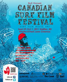 2nd Annual Canadian Surf Film Festival 2011 | www.cdsff.ca