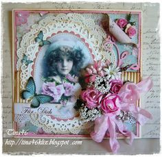 """Live & Love Crafts' Inspiration and Challenge Blog: Romantic """"Girl Power"""" by Tina"""