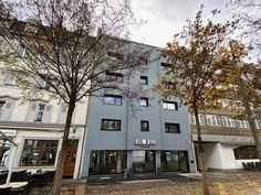 This small design hotel is located opposite Basel's Fairgrounds (Messe) in trendy Kleinbasel, a walk from the River Rhine and Old Town. It has a hip bar. Hotel Lounge, Design Hotel, Basel, Old Town, Switzerland, River, Boutique, Mansions, House Styles