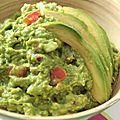 Le vrai guacamole mexicain - partie i - recettes fete des voisins