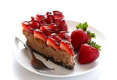 Cheesecake med Oreo-bund og Nutella-topping
