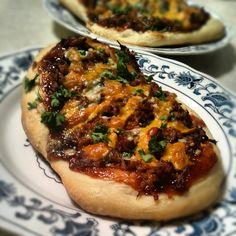 BBQ Pulled Pork Pizza #BBQ #pulledpork #pizza