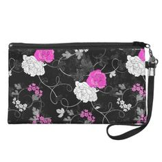 >>>Coupon Code          	Vintage floral black and pink roses wristlet clutches           	Vintage floral black and pink roses wristlet clutches lowest price for you. In addition you can compare price with another store and read helpful reviews. BuyHow to          	Vintage floral black and pink...Cleck Hot Deals >>> http://www.zazzle.com/vintage_floral_black_and_pink_roses_bag-223881265009162448?rf=238627982471231924&zbar=1&tc=terrest