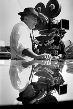 """ ""Going to the cinema is like returning to the womb; you sit there, still and meditative in the darkness, waiting for life to appear on the screen."" Federico Fellini (20 January 1920..."