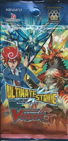 New product added on www.thegamescorner.com.au:  Cardfight!! Vangu...  Have a look here!  http://www.thegamescorner.com.au/products/cardfight-vanguard-vol-13-ultimate-stride-booster-pack-release-22-12-17?utm_campaign=social_autopilot&utm_source=pin&utm_medium=pin