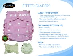 LeettleBaby: Falling Into Fitted Diapers Hop - Enter To Win An Imagine Baby Bamboo Fitted!