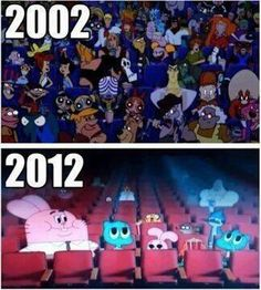 This is so sad... I miss the old Cartoon Network :'(