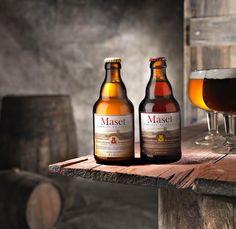 Presentación de las cervezas de Abadía Maset del Lleó Rubia y Tostada