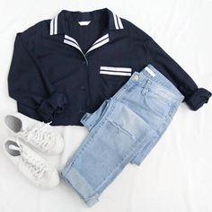 Chandail, pantalon et souliers