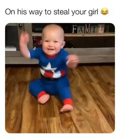 Cute Funny Baby Videos, Cute Funny Babies, Super Funny Videos, Funny Videos For Kids, Funny Cute, Funny Baby Memes, Some Funny Jokes, Funny Video Memes, Stupid Funny