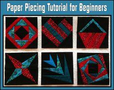 Paper Piecing Tutorial for Beginners
