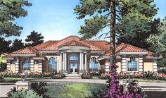 This 1 story Contemporary features 3,556 sq feet. Call us at 866-214-2242 to talk to a House Plan Specialist about your future dream home!