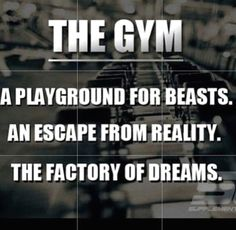 Factory of Dreams #FitnessMotivation