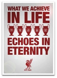 We won it five times. Liverpool Champions League, Liverpool Home, Liverpool Football Club, Liverpool Fc Wallpaper, Uefa Super Cup, This Is Anfield, International Soccer, Club Poster, European Cup