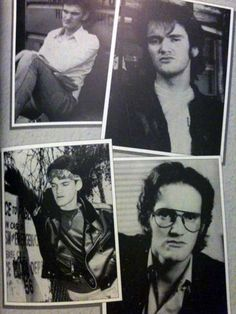 A young Quentin Tarantino Quentin Tarantino Films, Non Plus Ultra, Natural Born Killers, Reservoir Dogs, Film Director, Pulp Fiction, Hollywood Stars, Beautiful Celebrities, Death Proof
