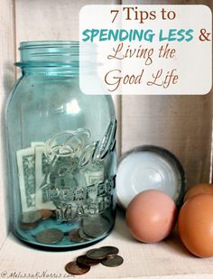 Do you long for the good life without going broke? These 7 tips to spending less money and living the good life help you focus on real things you can do to #save #money, no matter where you live, without coupons or schemes.