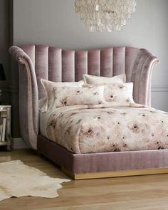 Shop Moira Channel Tufted California King Bed from Haute House at Horchow, where you'll find new lower shipping on hundreds of home furnishings and gifts. Furniture Upholstery, Bedroom Furniture, Bedroom Decor, Upholstery Repair, Upholstery Nails, Upholstery Cleaning, Bedroom Ideas, King Beds, Queen Beds