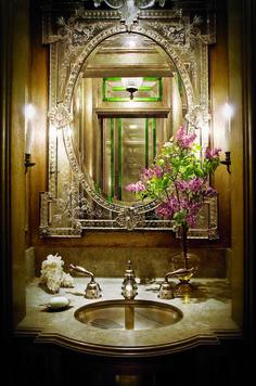 Bathroom Mirror Ideas to Reflect Your Style. #Bathroom #Mirror #Frames #Vanity