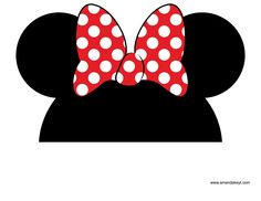 photograph regarding Free Printable Mickey Mouse Photo Booth Props identify 11 Ideal suggestions pictures within 2016 Minnie mouse get together, Mickey