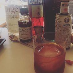 #negroni #monday - @willmoyle23 is all over it #regram #sinkonah #tonicsyrup #cocktails #tonicsyrupwillchangeyourlife @melbourneginco #campari #bitters by sinkonah