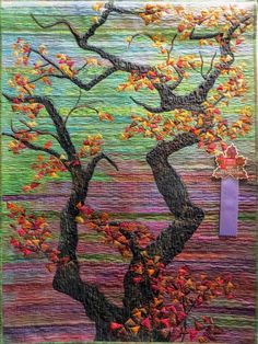 Overhanging Oak Branches by Cathy Geier