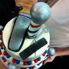.@allstarz219 | a true barbers birthday cake  #thebarberpost #barberinctv #barbersunitedwesta... | Webstagram