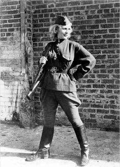 Soviet women snipers. Kira Petrovskaya