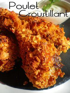 Des cuisses de poulet croustillantes meilleur que les restaurations rapides, rien à voir, vraiment on sent la chair du...