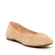 GIULIANA SEQUIN QUILTED FLAT Comfy flat which can be casual or also dressed up for work. Great neutral color. Ziginy Shoes Flats & Loafers