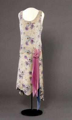 Evening dress, 1929
