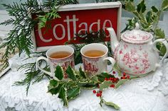 My Painted Garden: Cottage Christmas