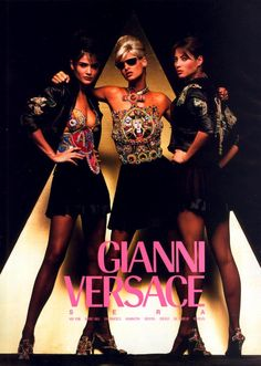 c518653dacfb Gianni Versace created his eponymous couture house in 1978 in Milan. That  same year, he presented his first ready-to-wear collection, Gianni Versace  Donna.