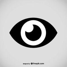 Eye logo vector design