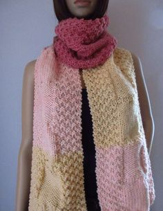 Fashion, Ice Cream Sundaes, Jewelry Dish, Scarves, Wool, Knitting And Crocheting, Moda, Fashion Styles