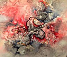 Ribbons in progress by Amytea.deviantart.com on @DeviantArt