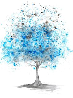 Beautiful Blue Tree Abstract Watercolour digital download.  For you to download and print out at home or take to a professional printers. This is a download of my original fine art watercolour. It has been professionally copied to ensure that you receive at high quality jpeg.  The technical bit: After completing checkout you will receive a high quality jpeg. The file size is 20 x 15 inches at 360dpi. This can be reduced or enlarged to suite your frame. The file can also be cropped and…