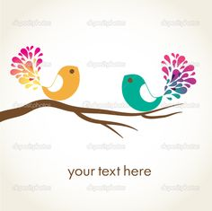cartoon birds | Cute Cartoon Love Birds Wallpaper Backgrounds Pictures