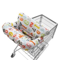 Shopping Cart cover- we bought this EXACT one from Target. Hopefully one day I can learn how to sew them!!