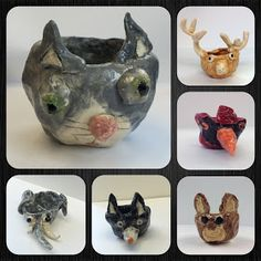 These cute pots were a challenge for my third grade students. I used to make pinch pots with first grade but found that I ended up doing m...