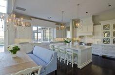 Pristine White Kitchen