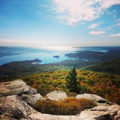 Beautiful Camden Hills State Park in Maine