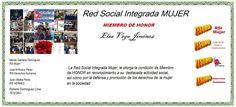 RSI Mujer. Elsa Vega Jiménez  Miembro de Honor