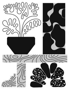 Raphael Garnier Art And Illustration, Illustrations And Posters, Graphic Design Illustration, Shape Collage, Collage Art, Branding, Abstract Pattern, Cool Drawings, Poster Prints