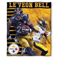 91c9bd9328e Steelers - LeVeon Bell OFFICIAL National Football League Players  Association