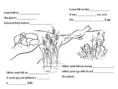 Scripture Journal Printable: The Parable of the Sower
