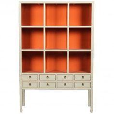 Chinoiserie Mandarin Bookcase (Many Size and Custom Finish Options)