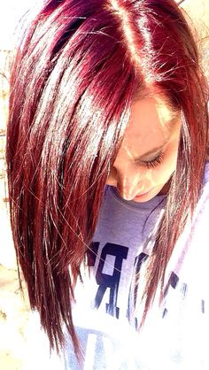 this is garnier fructis box dye believe it or not. this is garnier fructis box d Box Hair Dye, Hair Dye Tips, Dyed Red Hair, Dye My Hair, Box Dye, Bad Hair, Hair Day, Garnier Hair Color, Hair Addiction