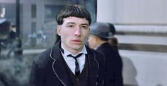 "And yet here he is in Fantastic Beasts, looking like his mom got distracted while giving him a haircut: | We Need To Talk About Ezra Miller's Haircut In ""Fantastic Beasts"""