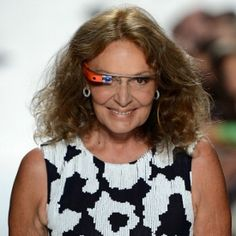 Fashion designer Diane von Furstenburg and Google partnered to show us a behind-the-scenes look at New York Fashion Week, as seen through Google Glass, the search giant's augmented reality goggles.