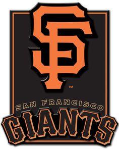 San Francisco Giants 3D plaque (Target)